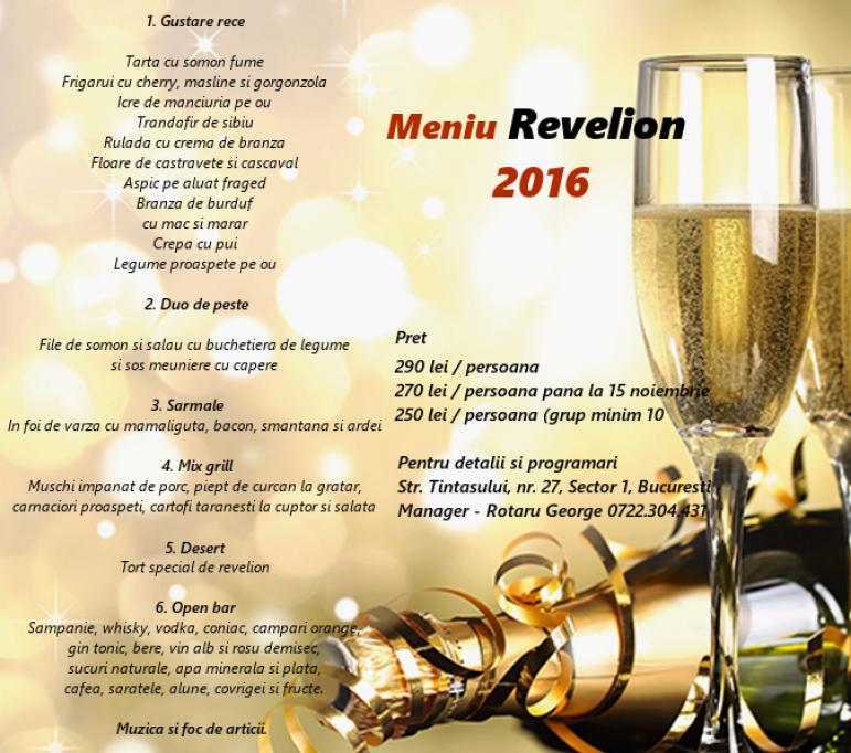 Revelion 2016 Restaurant Agora