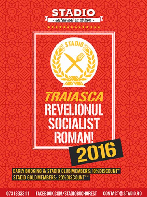 Revelion 2016 la Restaurant Stadio