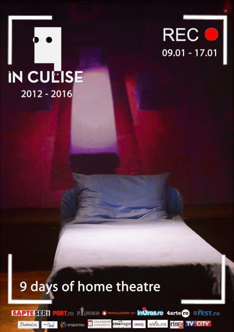 """9 days of home theatre, 4 ani de În Culise aniversați """"acasă"""""""