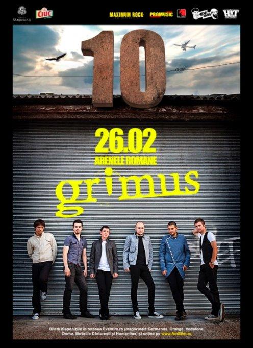 Grimus lanseaza albumul Emergence pe 13 martie@ Colectiv