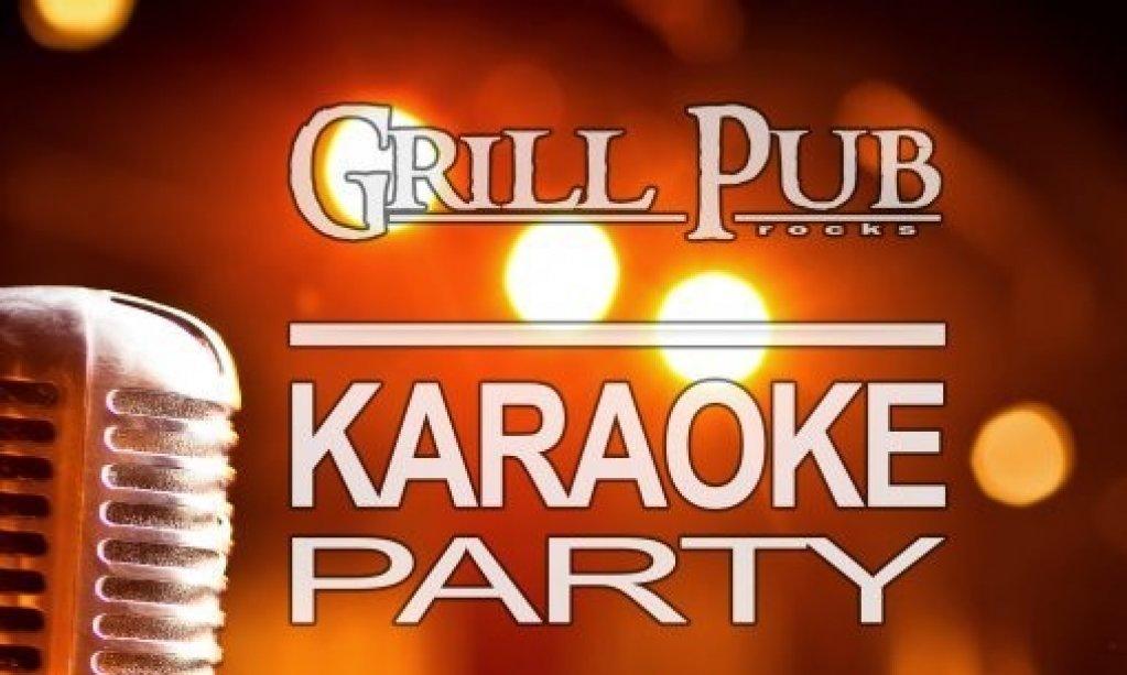 Karaoke Party in Grill Pub!