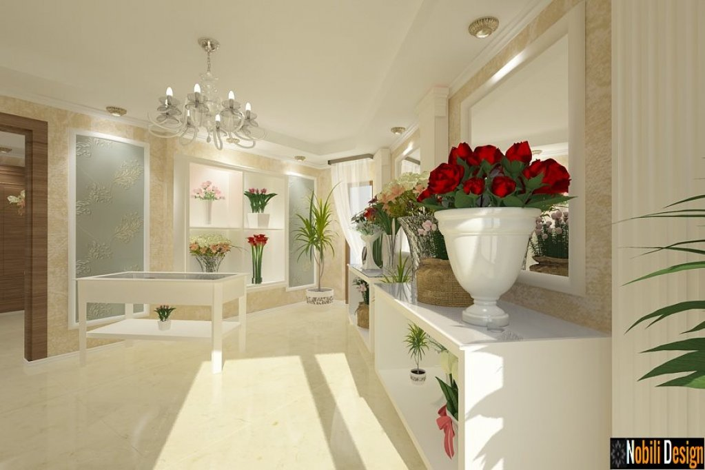 Design interior florarie