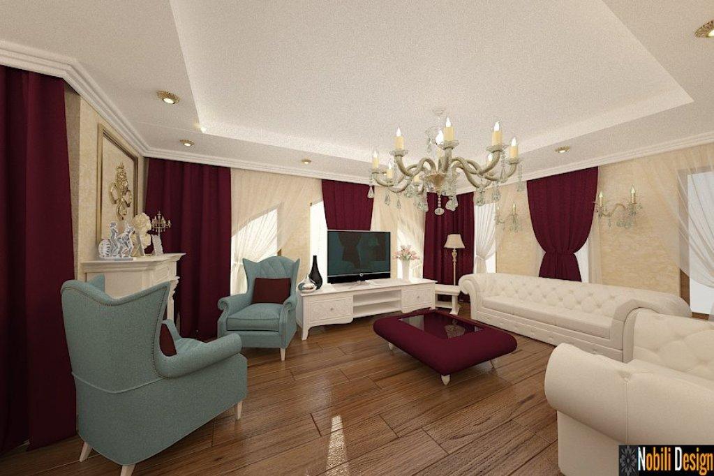 Design interior in stil clasic pentru vila