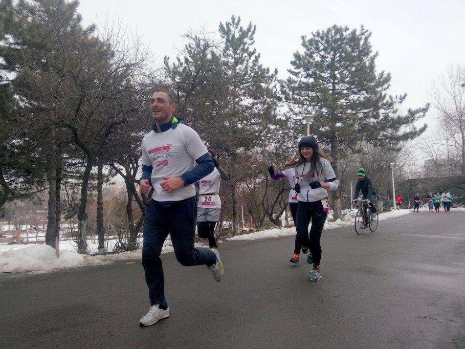 Delta Studio și Vladimir Drăghia sprijină Pădurea Copiilor cu 1000 puieți la Semimaratonul Gerar