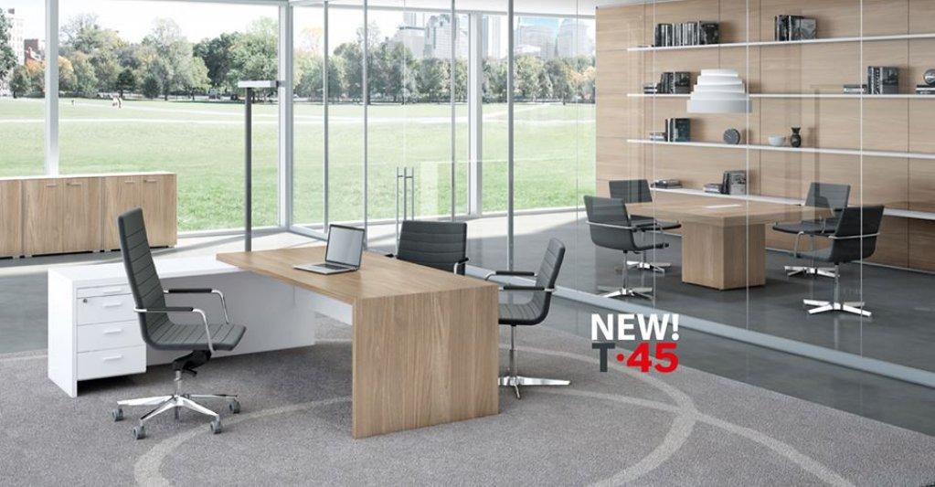 Mobilier de birou de la quadrifoglio for Mobili design per ufficio