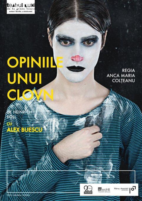 Romanul Opiniile unui clovn, de Heinrich Böll, pus în scenă la Teatrul Luni