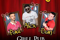 "STAND-UP COMEDY cu 3 ""MARTISOARE""! in Grill Pub"