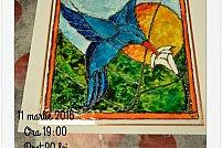 Atelier de pictura in culori pentru vitraliu