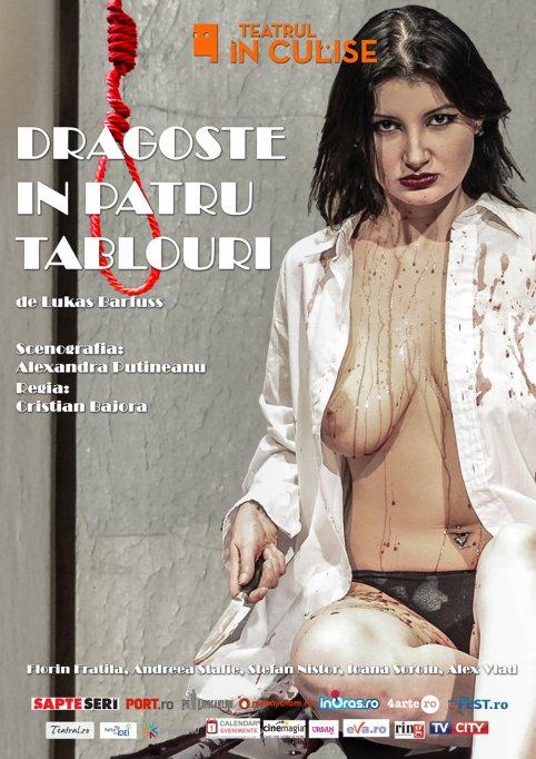 • DRAGOSTE IN PATRU TABLOURI – thriller psihologic