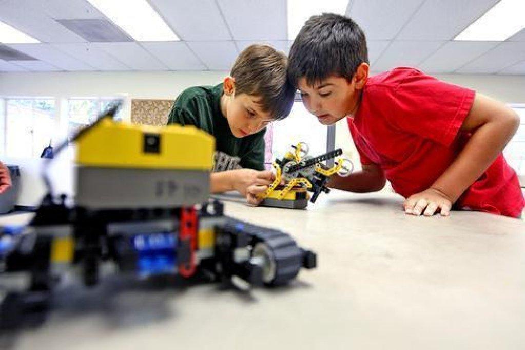 Atelier de initiere in robotica pentru copii de 6-10 ani