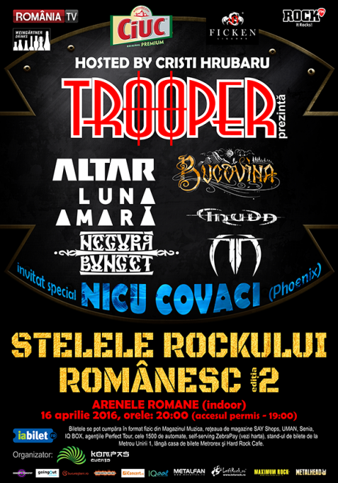 Negură Bunget cântă la Stelele rock-ului românesc – ediția a II-a