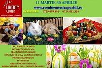 PRIMAVARA, FLORIILE SI PASTELE LA LIBERTY MALL, 11 MARTIE - 30 APRILIE 2016, SECTOR 5, BUCURESTI