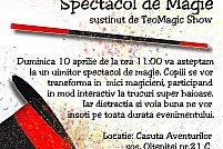 Spectacol de MAGIE alaturi de TeoMagic Show