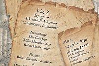 """Partituri rare de Vivaldi și Stravinski vor prinde viață marți în """"Stagiunea de colecție"""""""
