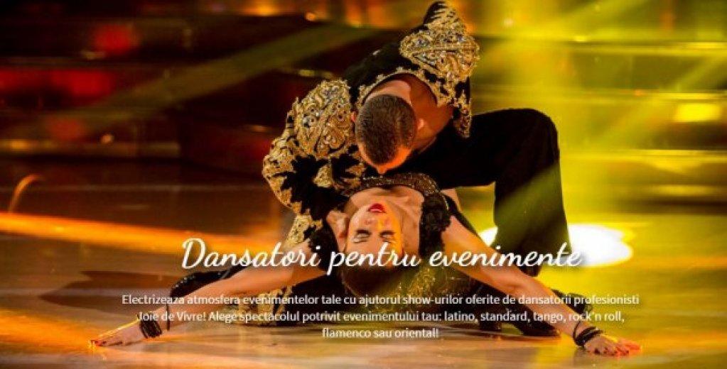 Scoala de dans Joie De Vivre prezinta show-uri spectaculoase alaturi de dansatorii sai profesionisti