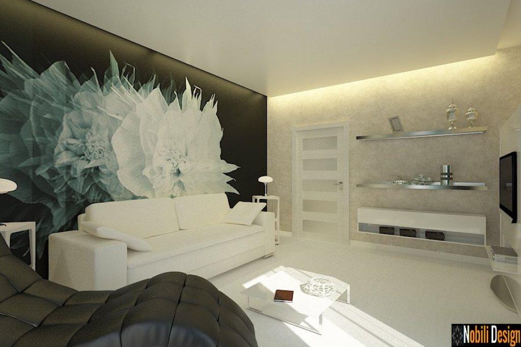 Design interior pentru apartament modern din Bucuresti