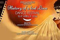 History of a Lost Love Dance Festival : 3 zile si 3 nopti (10.00 a.m. – 05.00 a.m.) de dans si muzica in Bucuresti.