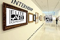 Internship la Elite Art Gallery