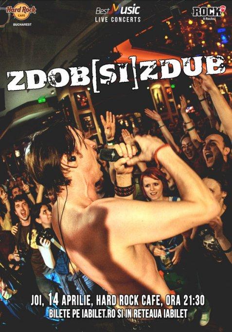 Concert Zdob Si Zdub @ Hard Rock