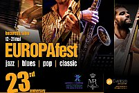 Start EUROPAfest 2016 ! 10 zile de jazz, blues, pop si clasic