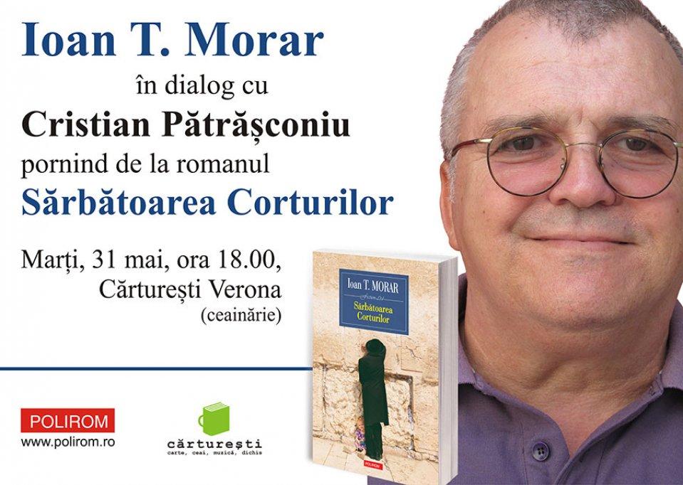 Ioan T. Morar in dialog cu Cristian Patrasconiu la Carturesti Verona