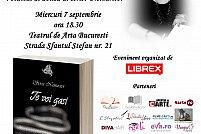 """Lansare de carte """"Te voi gasi"""" de O.G. Arion"""