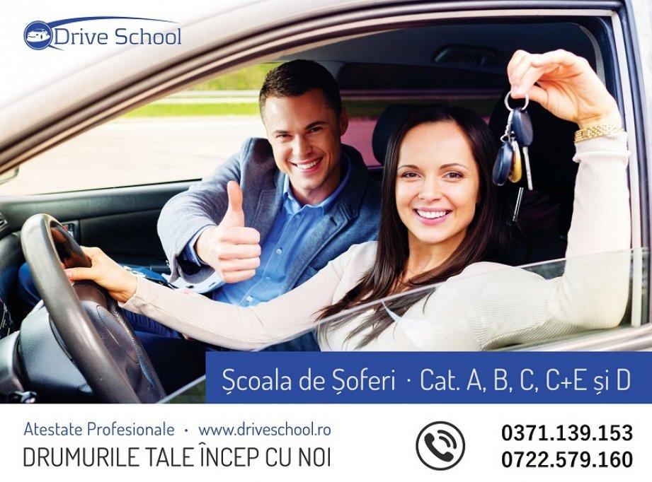 Scoala de soferi Drive School