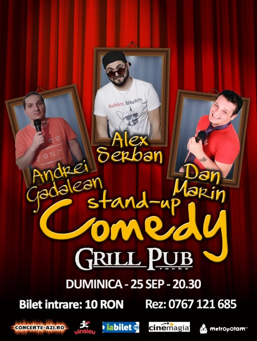 Stand up comedy - Grill Pub