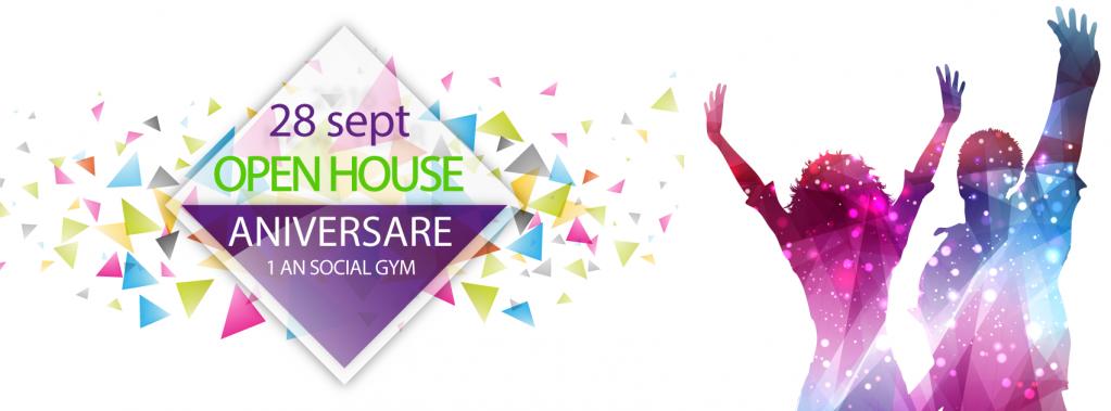 Social Gym – primul club non-profit de fitness și aerobic din România – sărbătorește 1 an de la deschidere