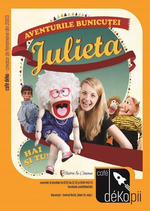 Aventurile bunicutei Julieta la Cafe Deko