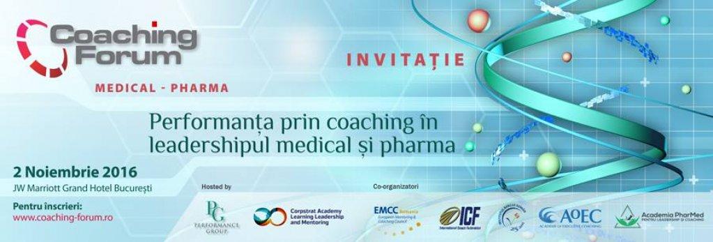 Coaching Forum Medical   Pharma