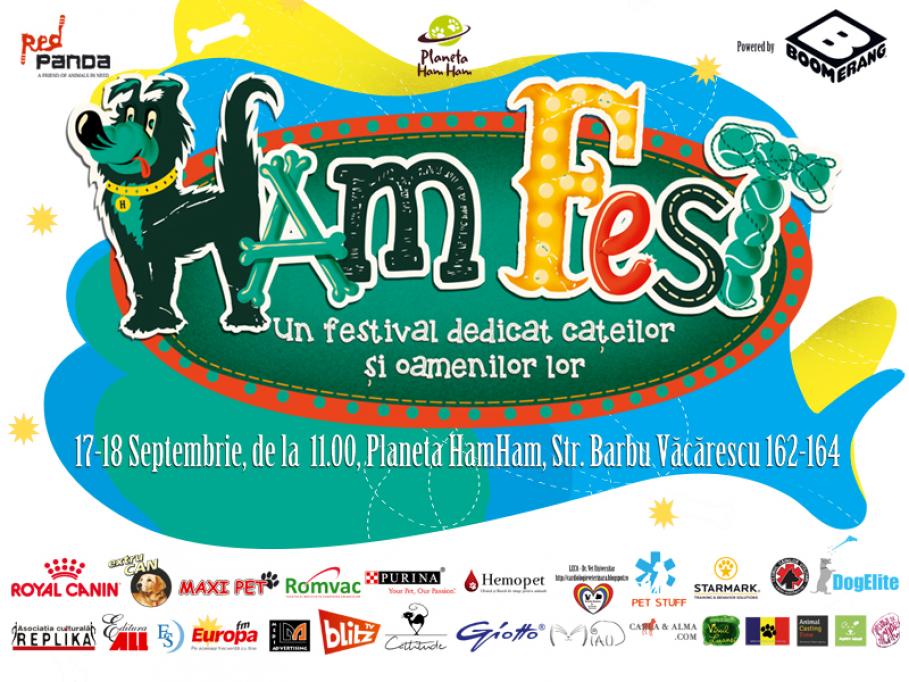 """HamFest, festivalul dedicat """"cățeilor și oamenilor lor"""", a ajuns la cea de a patra ediție!"""