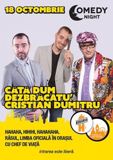 Stand-up Comedy Marti 18 Octombrie Bucuresti Beraria H