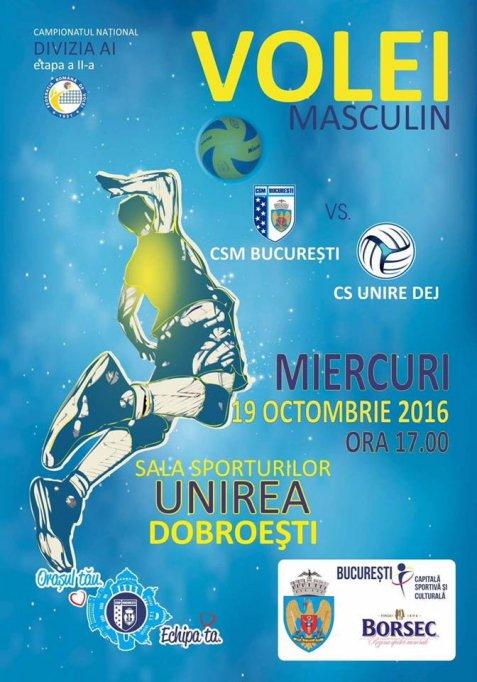 CSM Bucuresti - CS Unirea Dej
