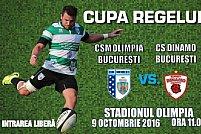 CSM Olimpia Bucuresti - CS Dinamo Bucuresti
