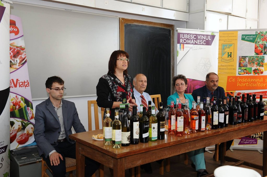 Vinuri participantele la Primul Pre-eveniment pentru Campania IUBESC VINUL ROMANESC - 13.10.2016