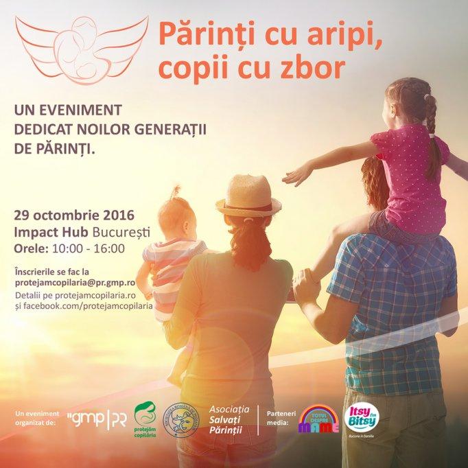Părinți cu Aripi, Copii cu Zbor