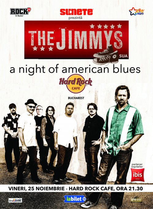 The Jimmys @ Hard Rock Cafe