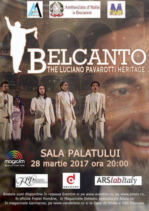"BELCANTO - ""The Luciano Pavarotti Heritage""."