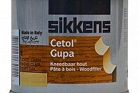 Pregatim suprafata lemnului pentru renovare cu chit lemn