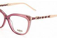 Ochelari de vedere Baldinini femei BLD1567 Roz Transparent