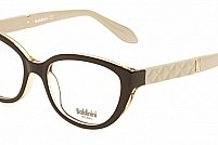 Ochelari de vedere Baldinini femei BLD1569 Negru Alb