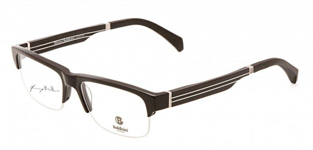 Ochelari de vedere Baldinini femei BLD1579 Negru Argintiu
