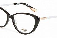 Ochelari de vedere Baldinini femei BLD1581 Negru Auriu Alb