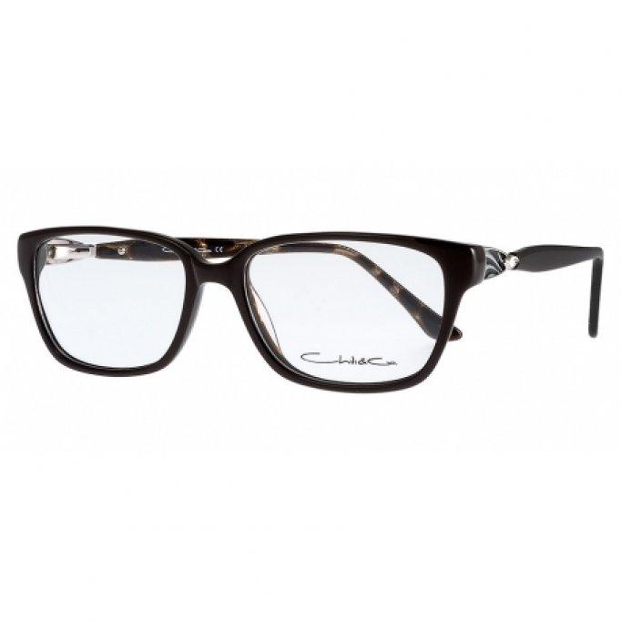 Ochelari de vedere Chilli&Co femei CC604 Negru Maro Inchis