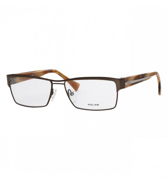 Ochelari de vedere Police Barbati V8713 - culoare Maro