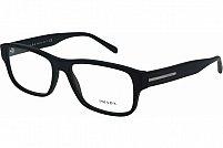 Ochelari de vedere Prada Barbati PR23RV - culoare Neagra