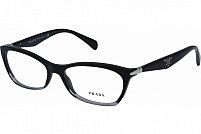 Ochelari de vedere Prada Dama PR15PV - culoare Neagra