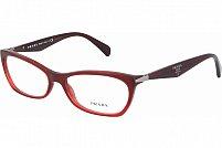 Ochelari de vedere Prada Dama PR15PV - culoare Rosie