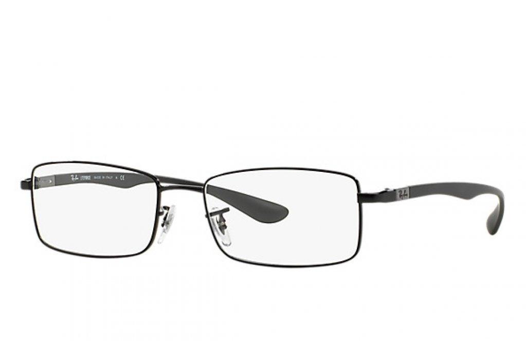 Ochelari de vedere Ray-Ban unisex RB6286 Negru Gri